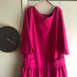 Victoria Beckham Pink Target Collection dress